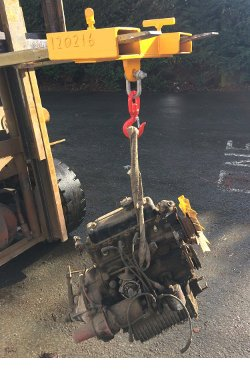 Forklift Lifting Jib 11