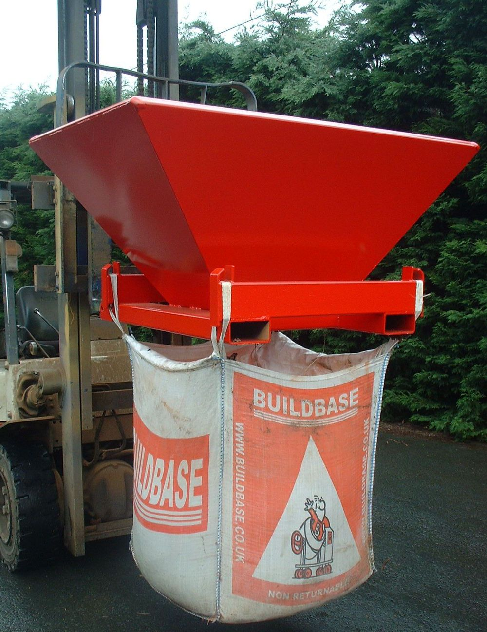 Bulk Bag Filler and Carrier