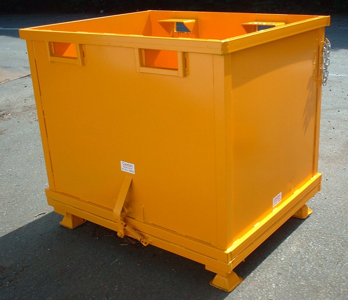 Forklift Drop Bottom Stillage 1.00 cu.m with feet