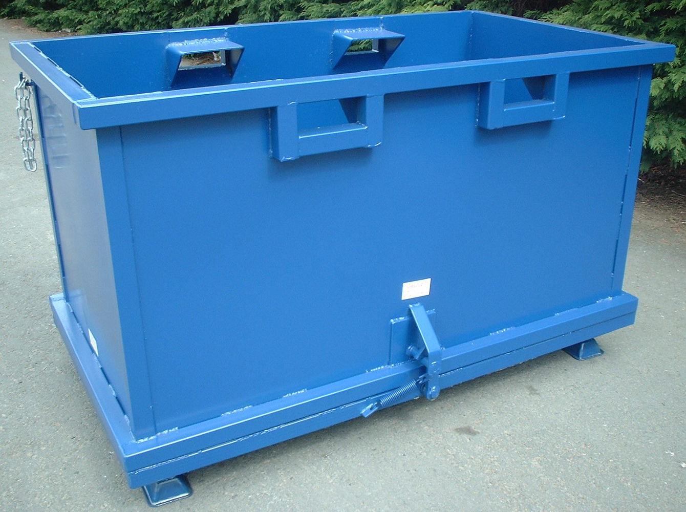 Forklift Drop Bottom Stillage 1.50 cu.m with feet