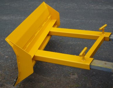 forklift snow plough /yard scraper 2