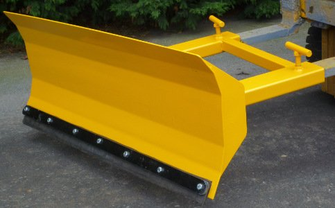 forklift snow plough / yard scraper 3