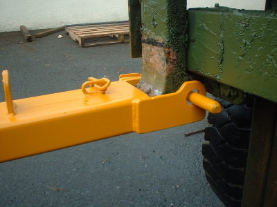 Forklift Tow Ball 4