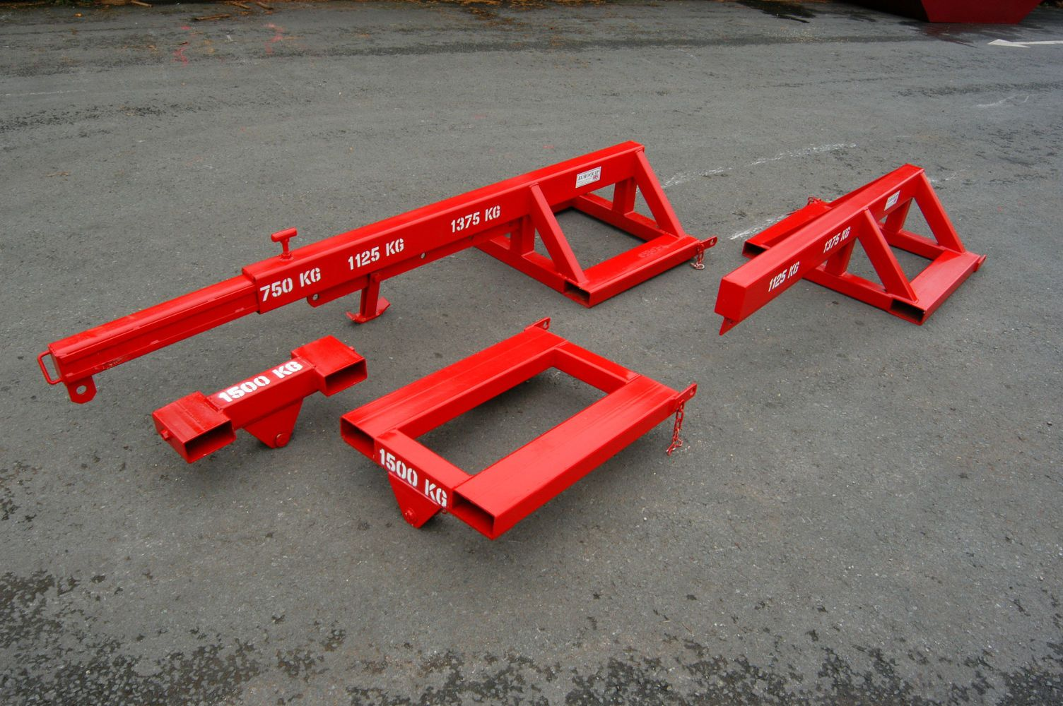 Euroquip's range of Forklift Lifting Jibs