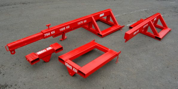 Various sizes of Forklift Lifting Jibs