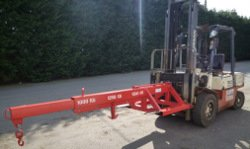 Forklift Lifting Jib 12