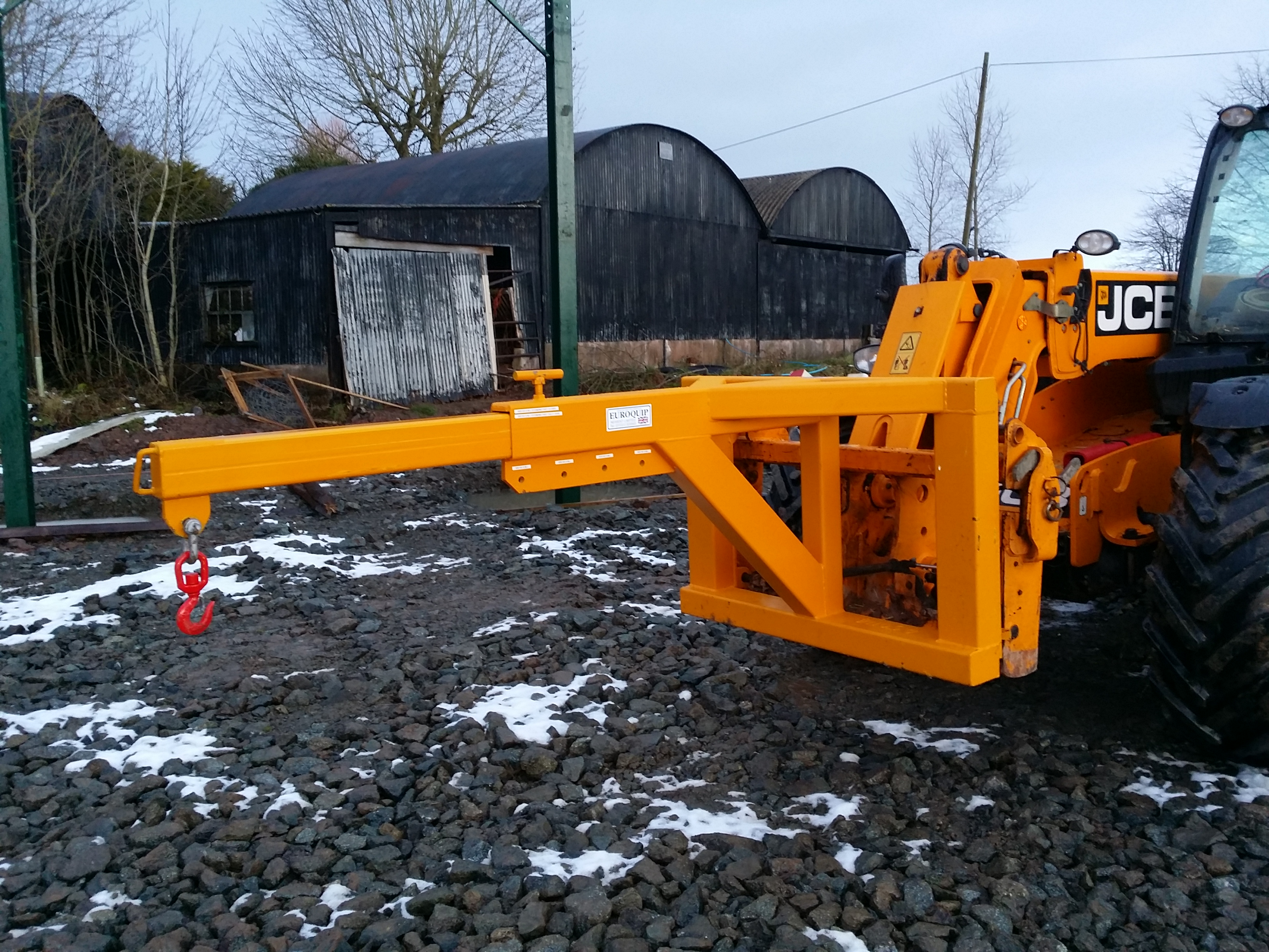 Telehandler Extending Lifting Jib