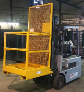 Safety Access Platform with Lift Up Bar