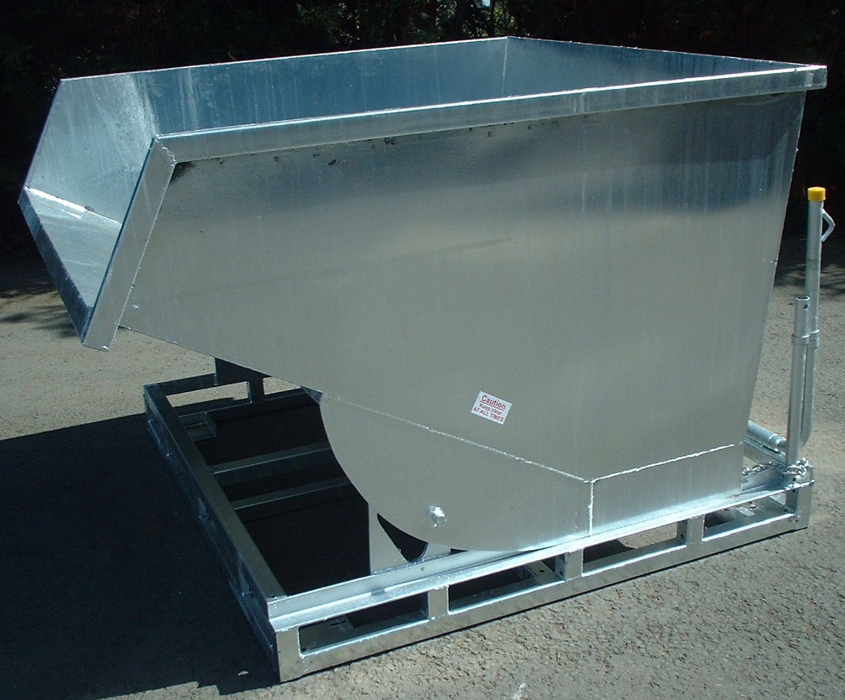 Tipping Skip 1.75 cu.m. size Galvanised